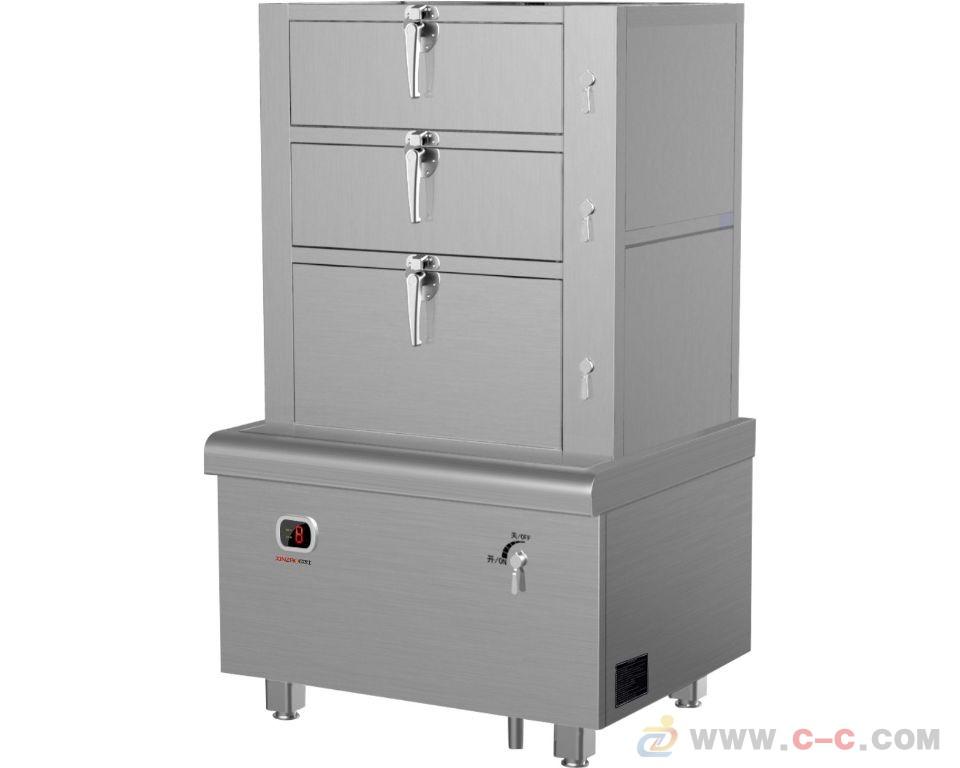 电磁三门蒸饭柜