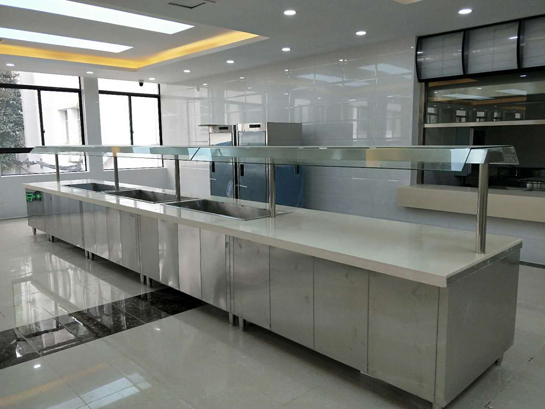 武汉铁路局厨具工程安装进展顺利