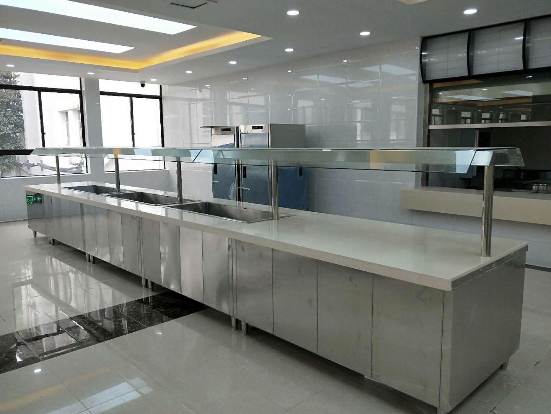 武汉铁路局机关食堂厨具工程竣工